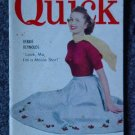 QUICK NEWS WEEKLY-April 9, 1951 - DEBBIE REYNOLDS Cover