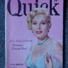 QUICK NEWS WEEKLY - Sept. 1, 1952 - ZSA ZSA GABOR Cover