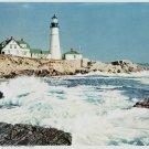 Vintage Print Lighthouse Sentinel Of The Sea 8x10