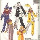 McCalls 4944 Boys, Girls Clown Costume Sewing Pattern Size 6, 8