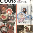 McCalls 2107 Frame It Picture Frames 80s Crafts Sewing Pattern