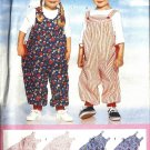 Boy, Girl Jumpsuit, Top Sewing Pattern Butterick 4590 Size 1, 2, 3, 4
