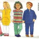 Boy, Girl Top, Pants, Skirt Sewing Pattern Butterick 4593 Size 5, 6, 6X