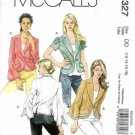 Misses Unlined Jackets Sewing Pattern McCalls 5327 Size 12, 14, 16, 18
