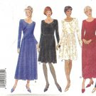 Misses Long/Short Dress Sewing Pattern Butterick 3756 Sz 6, 8, 10, 12
