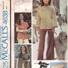 Misses Jacket, Vest, Clutch Bag Sewing Pattern McCalls 4638 Size 6, 8