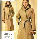 Misses Classic Wrap Coat Sewing Pattern Butterick 3925 Size 10