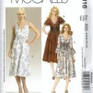 Misses Laura Ashley Dress Sewing Pattern McCalls 5316 Size 4 - 12