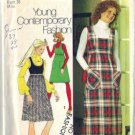 Misses 70s Jumper Retro Sewing Pattern Simplicity 5137 Size 14