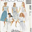Misses Dress Vintage Sewing Pattern McCalls 3537 Size 10