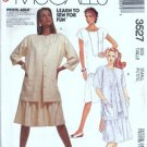 Misses Dress, Jacket 80s, Sewing Pattern McCalls 3527 Size 10, 12