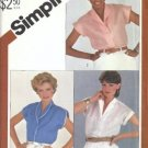 Misses Shirt, Blouse Vintage Sewing Pattern Simplicity 5451 Size 10