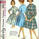 Misses Shirtwaist Dress 60s Sewing Pattern Simplicity 5232 Size 12