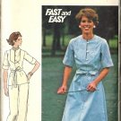Misses Dress Top Pants Vtg Sewing Pattern Butterick 4700 Size 16 1/2