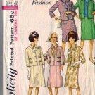 Misses 60s Paris Fashion Suit Sewing Pattern Simplicity 5383 Size 20