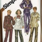 Misses Tunic, Pants Sewing Pattern Simplicity 5326 Plus Size 22, 24