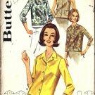 Misses 60s Blouse Vintage Sewing Pattern Butterick 2683 Size 18