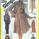 Misses Jacket Blouse Skirt Pants Sewing Pattern Simplicity 5238 Sz 16