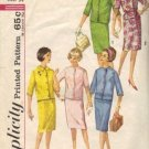Misses 60s Jacket, Skirt Vtg Sewing Pattern Simplicity 4859 Size 14