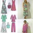 Misses Dress, Skirt, Bag Sewing Pattern Simplicity 4220 Size 8 - 16