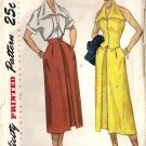 Misses 50s Skirt Halter Bolero Sewing Pattern Simplicity 3226 Size 14