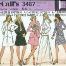 Misses Jacket Skirt Blouse Vintage Sewing Pattern McCalls 3487 Size 14