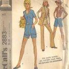 Misses Jacket Pants Shorts Vintage Sewing Pattern McCalls 2883 Size 16