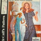 Misses Dress, Tunic, Pants Post Sewing Pattern McCalls 2788 Size 12