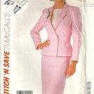 Misses Jacket Skirt Vintage Sewing Pattern McCalls 2324 Size 14 16 18