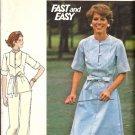 Misses Dress Top Pants Vintage Sewing Pattern Butterick 4699 Size 16
