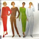 Misses Jacket Top Pants Skirt Sewing Pattern 18, 20, 22 Butterick 4668