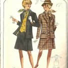 Misses Jacket, Vest, Skirt 70s Sewing Pattern Butterick 4585 Size 10