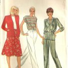 Misses Jacket, Top, Skirt, Pants Sewing Pattern Butterick 4229 Size 16