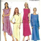 Misses 2003 Top, Skirt Sewing Pattern Butterick P401 Size 8, 10, 12