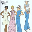 Misses Top, Dress, Pants, Skirt Sewing Pattern Butterick 3638 Size 10