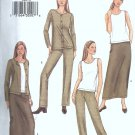 Butterick 3609 Misses Jacket, Top, Skirt, Sewing Pattern Sz 6, 8, 10
