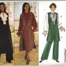 Misses Vest Dress Top Pants Sewing Pattern Butterick 3112 Sz 6, 8, 10