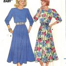 Misses Knit Dress 80s Sewing Pattern Butterick 3951 Size 8, 10, 12