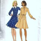 Misses Flared Dress 70s Vintage Sewing Pattern Butterick 3264 Size 12