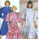 Misses Loose Dress Sewing Pattern Butterick 3111 Size 16, 18, 20, 22