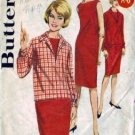 Misses Shift Dress, Overblouse 60s Sewing Pattern Butterick 2805 Sz 14