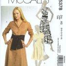 McCalls 5378 Misses Dress Sewing Pattern Size 6, 8, 10, 12, 14 Uncut