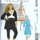 McCalls 5435 Misses Tunic, Dress Sewing Pattern Size 10, 12, 14, 16
