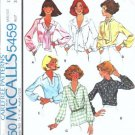 McCalls 5459 Misses 70s Blouse, Scarf Vintage Sewing Pattern Size 12