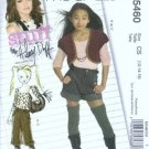 McCalls 5460 Girls Jacket Top Shorts Pants Sewing Pattern Size 12, 14, 16