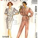 McCall's 4066 Misses Top, Skirt, Pants Vintage Sewing Pattern 10, 12, 14