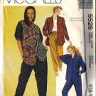 McCalls 5525 Misses Shirt, Pants Sewing Pattern Size Medium 14, 16