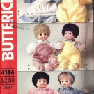 Butterick 4144 Baby Doll Clothes Vintage Sewing Pattern 16 Inch