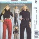McCalls 5537 Womens Pants Sewing Pattern Plus Size 18, 20, 22, 24