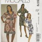 McCalls 5579 Misses Dress Sewing Pattern Size 8, 10, 12, 14, 16 Uncut